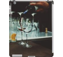 Drinks bar in party xpro cross processed c41 slide film analog photograph iPad Case/Skin