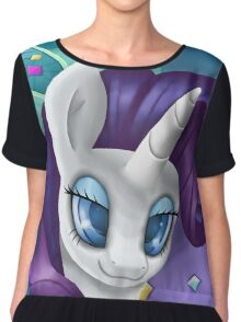 Rarity Headshot Chiffon Top