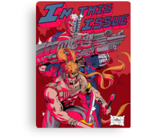 In this issue xforce Canvas Print