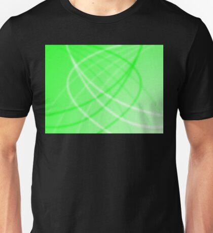 Neon Green Background Unisex T-Shirt