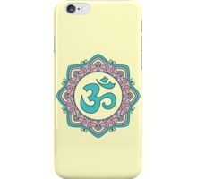 OM Mandala - Circle Ehnic Ornament iPhone Case/Skin