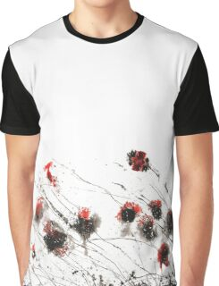 The Black Flower Field Graphic T-Shirt