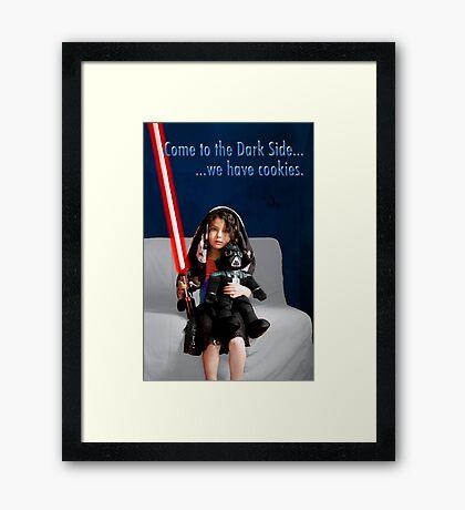 Sci Fi Girl Gone Bad Framed Print