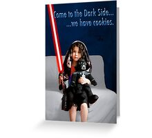 Sci Fi Girl Gone Bad Greeting Card