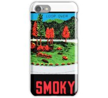 Great Smoky Mountains National Park Vintage Travel Decal 3 iPhone Case/Skin