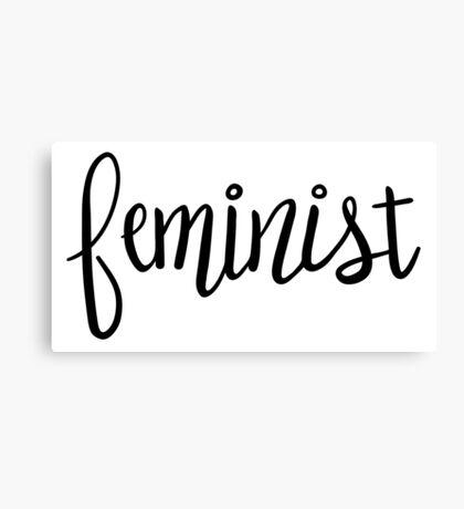 Feminist Canvas Print