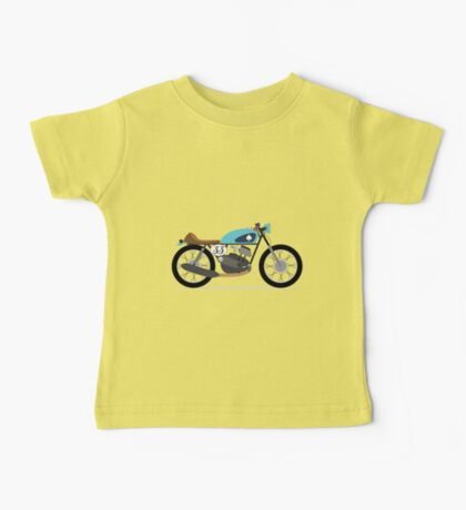 Vintage motorcycle, Café Racer Baby Tee
