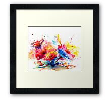 """Watercolor Garden"" Framed Print"