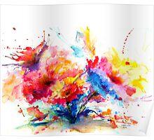 """Watercolor Garden"" Poster"