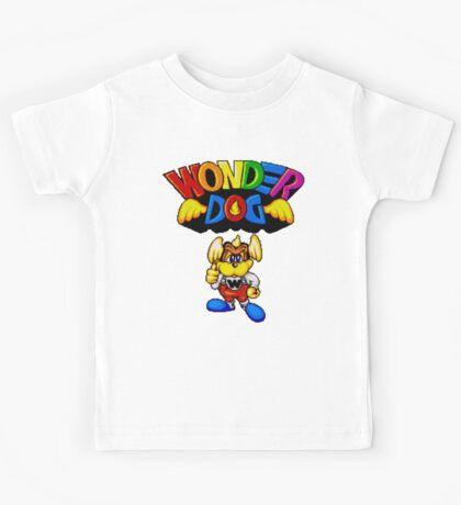 Wonder Dog - SEGA CD Title Screen Kids Tee