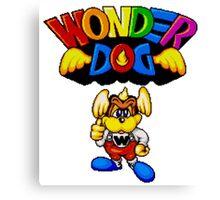 Wonder Dog - SEGA CD Title Screen Canvas Print
