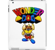 Wonder Dog - SEGA CD Title Screen iPad Case/Skin