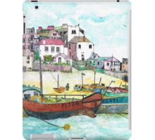 St Ives Harbour England iPad Case/Skin