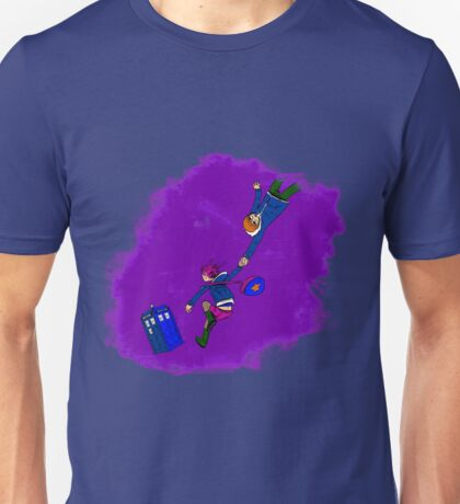 Scott Pilgrim vs the TARDIS T-Shirt Unisex T-Shirt