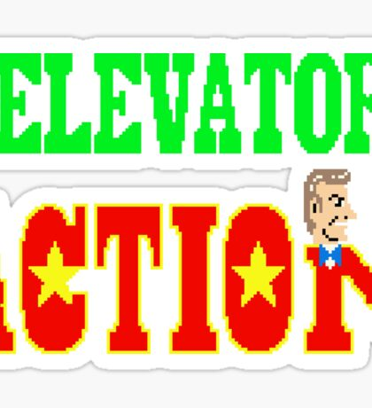 Elevator Action - Arcade Title Screen Sticker