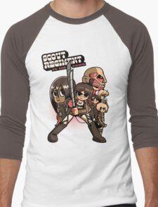Scout Regiment Vs. The Titans Men's Baseball ¾ T-Shirt