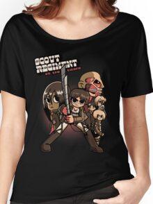 Scout Regiment Vs. The Titans Women's Relaxed Fit T-Shirt
