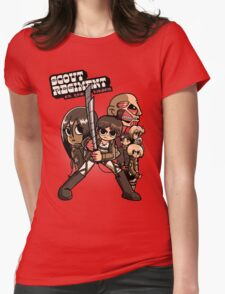 Scout Regiment Vs. The Titans Womens Fitted T-Shirt