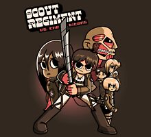 Scout Regiment Vs. The Titans Unisex T-Shirt