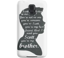 Stiles Quotes- Number One in a Series Samsung Galaxy Case/Skin