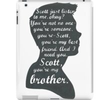 Stiles Quotes- Number One in a Series iPad Case/Skin