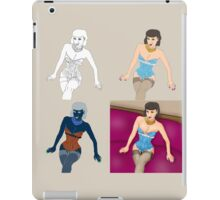 Girl x4 iPad Case/Skin