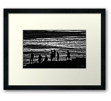 Sunset, 2014 Framed Print