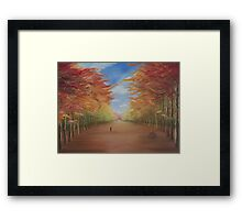 Thinking Space Framed Print