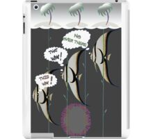 Clever Fish. iPad Case/Skin