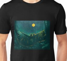 With the wolf in the woods - where the wild things are Unisex T-Shirt