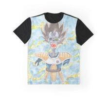The Prince Returns - DBZ Graphic T-Shirt