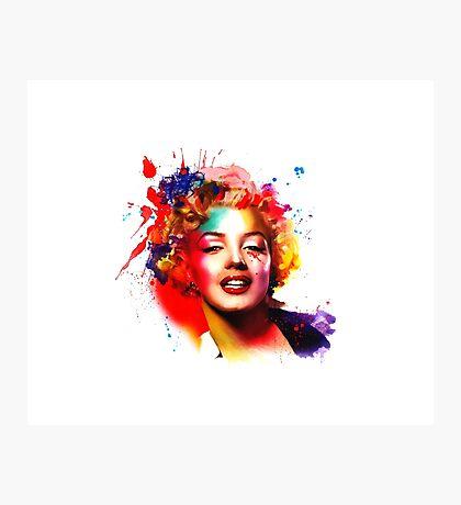 """Marilyn"" Photographic Print"