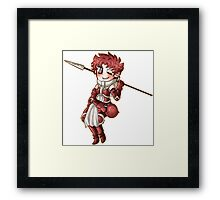 Chibi Sully Framed Print