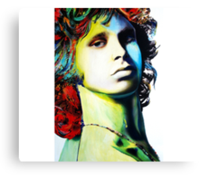 """Jim Morrison"" Canvas Print"