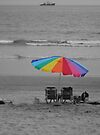 Beach Umbrella  by Kimberly Palmer