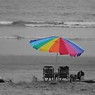 Beach Umbrella  by Kimberly Palmer