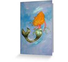 Mermaid Dori Greeting Card