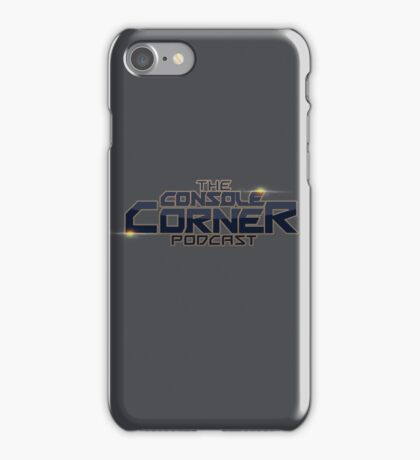The Console Corner Podcast iPhone Case/Skin