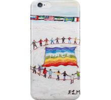 Speranza di pace iPhone Case/Skin