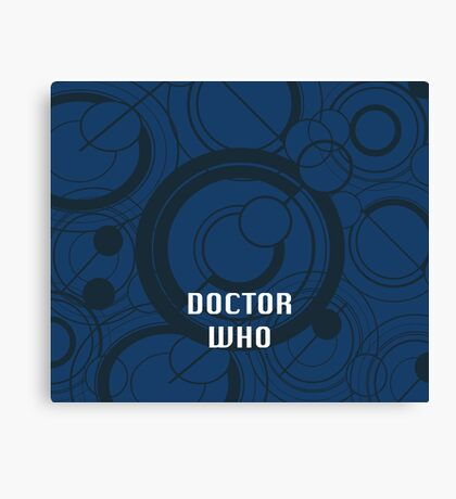 Doctor Who - Galifrayan Canvas Print