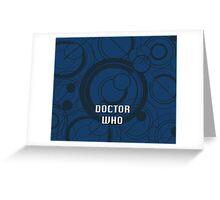 Doctor Who - Galifrayan Greeting Card