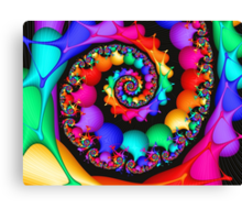 Spin of the Rainbow Canvas Print