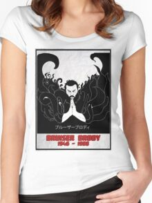 The Legendary Bruiser Brody Women's Fitted Scoop T-Shirt