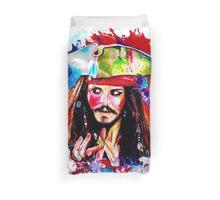 """""""Captain Jack Sparrow"""" Duvet Cover"""