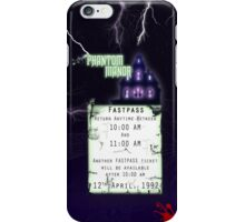 Phantom Manor- Fastpass iPhone Case/Skin