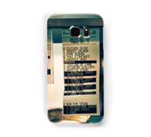 Friday night Samsung Galaxy Case/Skin