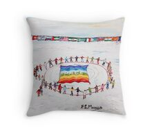 Speranza di pace Throw Pillow