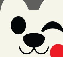 Siberian Husky Emoji Flirting and Blowing Kiss Sticker