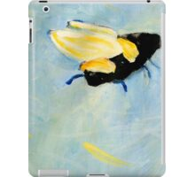 Bee going up iPad Case/Skin