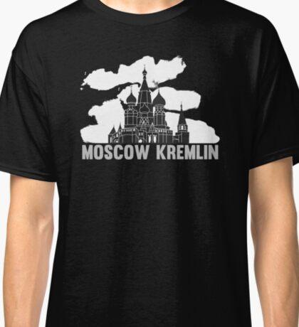 Moscow Kremlin Skyline Classic T-Shirt